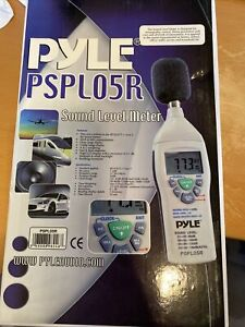 Pyle Pspl05r Digital Sound Level Meter With Recording