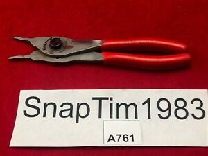 Snap On Tools Snap Retaining Ring Plier Srpc3800 Convertible Internal External