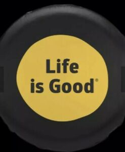 New Life Is Good Dot Tire Cover Night Black 32 Nwt Jeep Wrangler