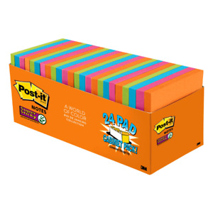 Super Stick Notes cabinet Packs 3 x3 24 pk riodejaneiro