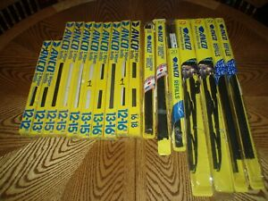 Big Lot Of Nos Anco Wiper Blades And Refills See Pictures And Description