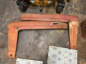 Ford 600 800 Tractor Front Hood Side Panels Legs Ford Script