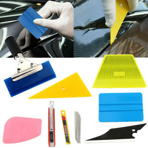 8x Car Window Tint Tools Kit Scraper Squeegee For Auto Film Tinting Installation