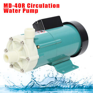 Md 40r 110v Magnetic Drive Circulation Pump For Water Treatment food Industry