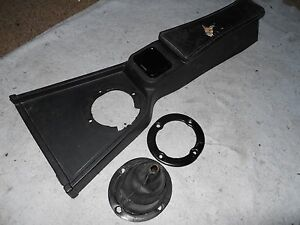 Mgb Interior Center Console With Shift Boot And Ashtray