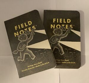 Lot Of 2 Haxley Sealed Field Notes Notebooks