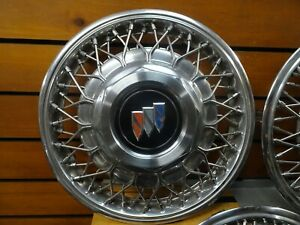 1 1988 1991 Buick Regal 1127 14 Wire Hubcap Wheel Cover Gm 10097502