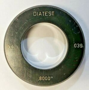 Diatest Bore Gauge Ring No 039 0 8000