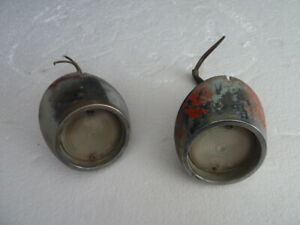 Original Vintage 1965 1966 Ford Mustang Rear Back Up Lights Sae r 64cr Pair
