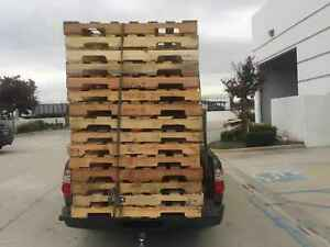 Used Wood Pallets 48 X 40 4 way Pallet Free Delivery In La oc
