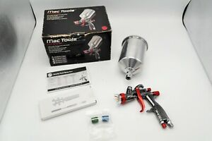 Nib Mac Tools Sg1300 13 Hvlp Gravity Paint Spray Gun 1 3 Mm Tip Aluminum Cup