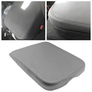 1pc For Dodge Ram 2002 2008 Armrest Center Console Lid Cover Dark Gray