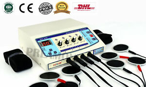Professional Electrotherapy Physical Therapy Machine 4 Channel Ultrasonic B