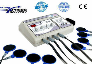 New Professional Home Use 4 Channel Electrotherapy Machine Pulse Massager Cx