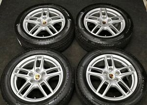 New Factory Porsche 958 Cayenne S Turbo Gts 19 Oem Wheels Winter Snow Tires