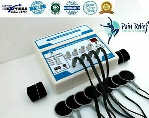 Electrotherapy Pain Relief Physical Therapy 4 Channel Physiotherapy Machine E5j