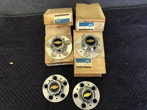 68 87 Truck Nos Chevy Truck Rally 15x8 C 10 Blazer In Box Center Caps 5 On 5