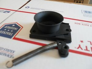 Mgb Hood Release Catch Plate Guide Plate And Spring