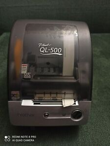 Brother Ql 500 P Touch Thermal Label Printer W Power Cable