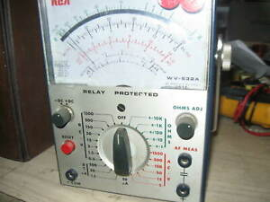 Rca Wv 532a Vom Meter