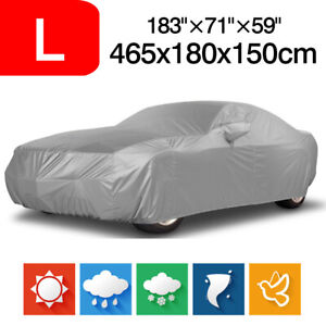 Large Full Car Cover Sun Rain Protection Breathable For Mercedes Benz C Class Sl