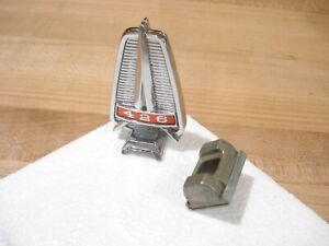 Nos Mopar 1965 Plymouth Belvedere Satellite Hood Ornament W 426 Wedge Mint