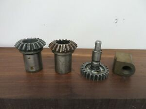 Atlas 10f Lathe Apron Mitre Gears And Other Parts
