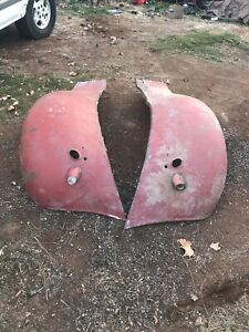 1935 1936 1937 Ford Pick Up Truck Original Front Fenders Nice
