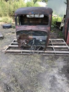 1937 Ford Pickup Truck Cab Body Cowl Roof Rat Rod Hot Rod Shop Truck 36 37 2