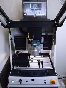 Techno Isel Cnc 4 Axis Milling Engraving Machine