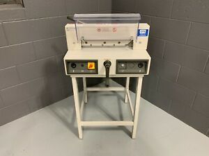 Mbm Triumph 3915 95 15 Electric Paper Cutter Serviced Tested