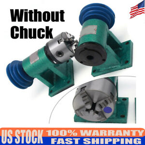 New Metal Lathe Spindle Instrument Desktop Industrial Lathe 4 Jaw Chuck Spindles