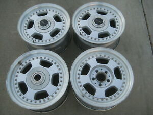 Rare Bbs Rt Lorinser Mercedes benz 16 Wheels Rims 5x112 Amg 3 Piece 16x7 5