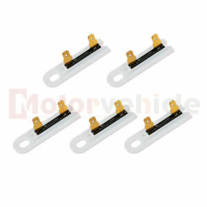 5 Pcs Dryer Thermal Fuse Replacement Part 3392519 Fits Whirlpool Kenmore Dryer