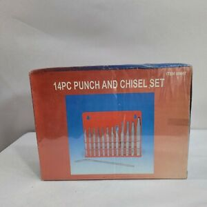 14pc Punch And Chisel Set