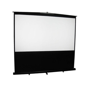 Reflexion Floor 72 In H X 96 In W Manual Pull up Projection Screen