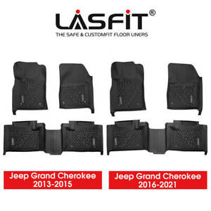 Floor Liners Mats For Jeep Grand Cherokee 2013 2019 2020 2021 All Weather Rubber