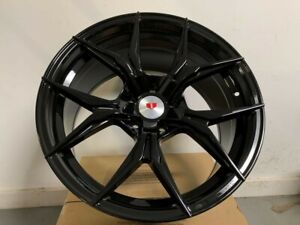 19 Stag Gloss Black Xf5 Style Wheels Rims Fits Bmw 3 Series 328 335 340
