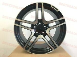 18 Staggered Mercedes Benz S65 Amg Style Wheels Rims Fits W204 C350 C Class