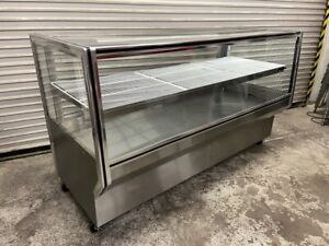 77 Bakery Case Glass Dry Non refrigerated Dessert Display Leader Hbk77dry 5106