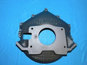 Wedge 55 60 Corv Pass Chevy Bbc Sbc Blowproof Bellhousing Scatershield Gasser