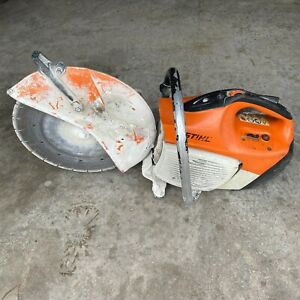 Stihl Ts420 Gas Handheld Cut off Concrete Saw Cutquik 2
