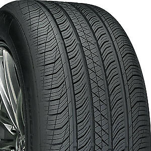 1 Aged Continental Pro Contact Tx 225 55 17 55r 17r Tires 41002