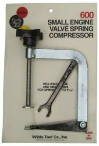 Wilde Tool 600 Professional Small Engine Valve Spring Compressor Made In Usa