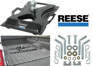 Reese 58079 The Goose 25 000lb Above Bed Gooseneck Hitch New Free Shipping