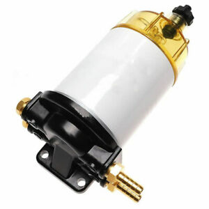 Fuel Filter Water Separator Kit With Aluminum Head 3 8 Inch Npt Port