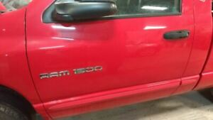 2003 2008 Dodge Ram 1500 Pickup Driver Front Door Red 2299420