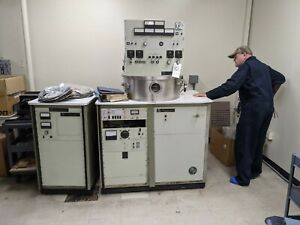 Materials Research Corporation Mrc 8667 Sputtering System In Use At Curtis Tech