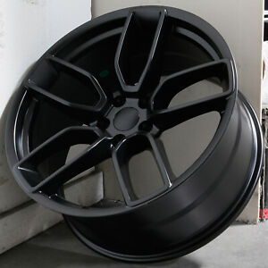 4 New 20 Rep Hellcat Hc2 Fit Charger Challenger Wheels 20x9 5 20x10 5 5x115 15