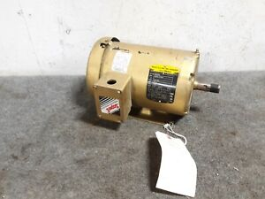 Baldor 1hp 3 phase Electric Motor Em3546t 1765 Rpm 230 460v S39